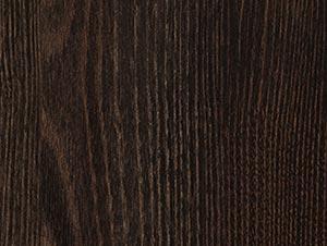 Дуб Термо Чёрно-коричневый H1199