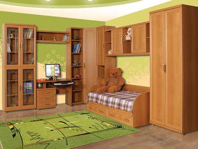 Корпусная мебель в детскую комнату на заказ