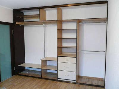 Внутреннее наполнение встроенного шкафа