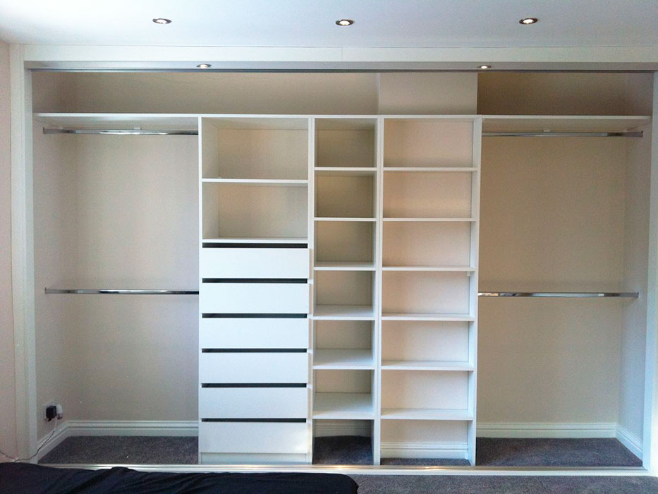 how to build a built in wardrobe from scratch