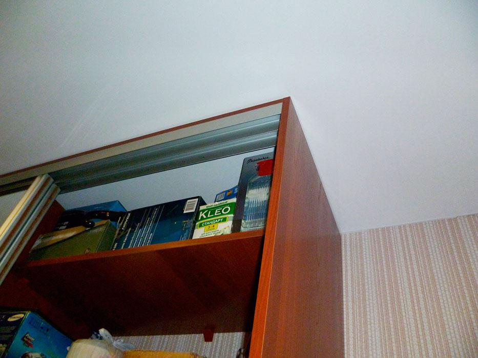 Как сделать шкаф на натяжной потолок 823